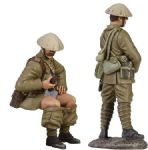 "WB23045 1916 British Infantry Trench Lift Set ""When Nature Calls"""
